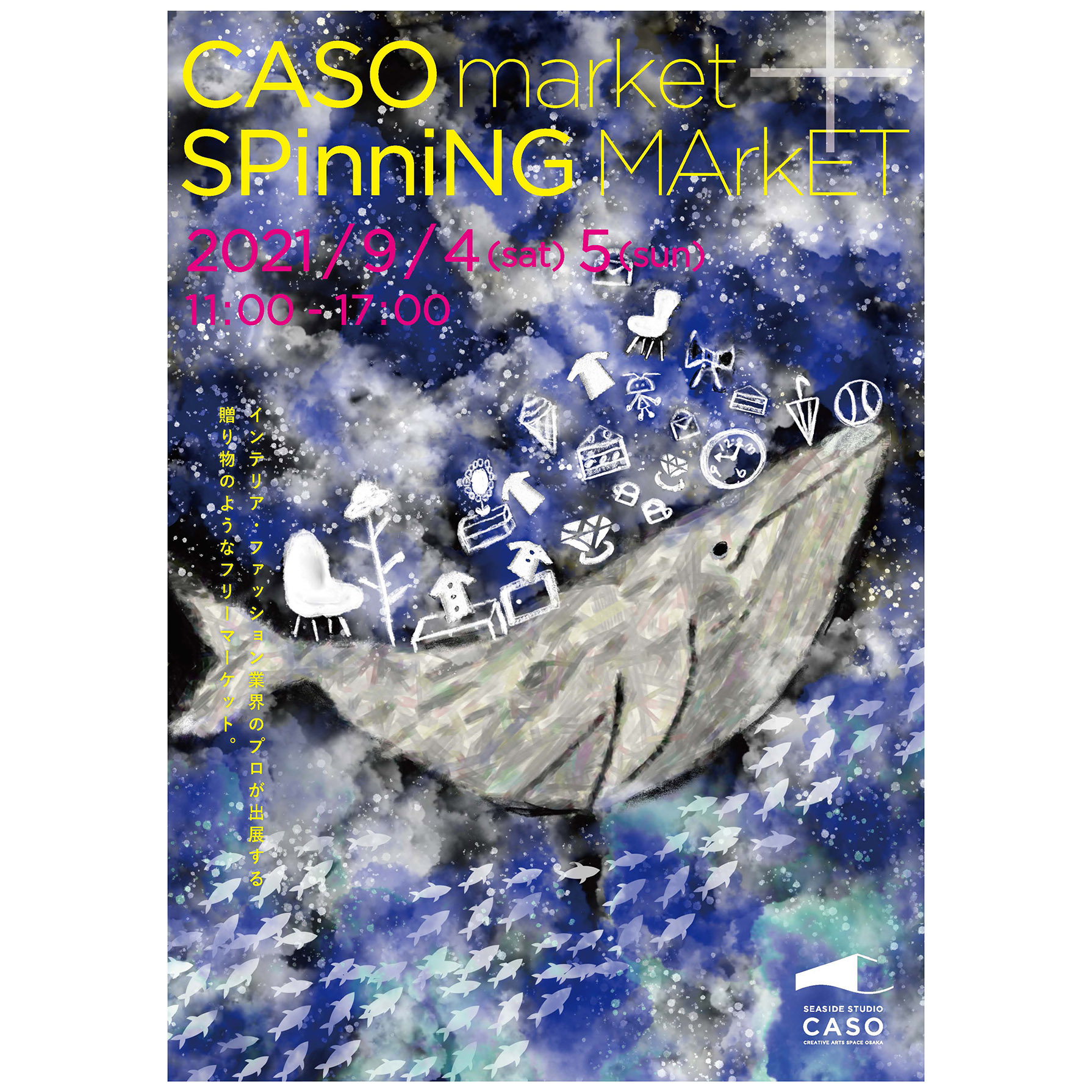 CASOmarket+SPinniNGMArkET